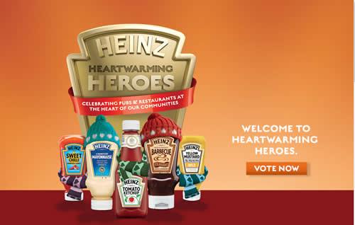 Heinz 'Heartwarming Heroes'
