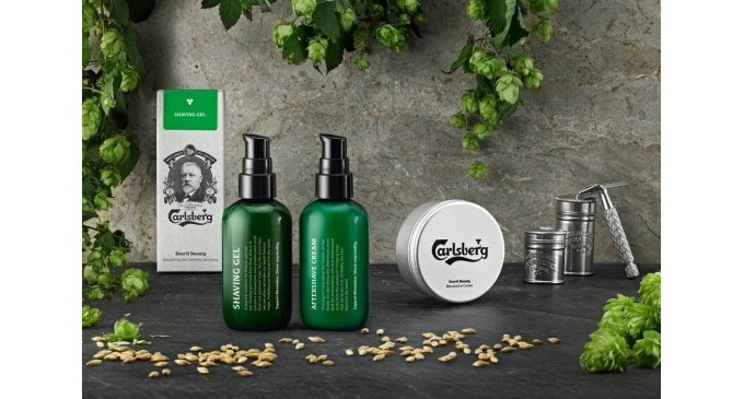 Carlsberg has launched a limited edition 'Beer'd Beauty' range with profits going to the Movember Foundation.