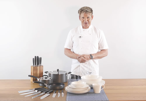 TCC is launching range of 'Gordon Ramsay Gourmet' kitchen products which retailers can use to reward shoppers when running in-store loyalty marketing campaigns.