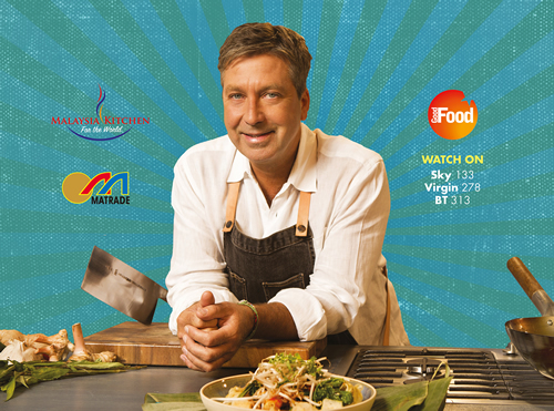 Malaysian export agency MATRADE has launched a cookery series on UK TV with Masterchef's John Torode, with 25% off Malaysian ingredients from Ocado.