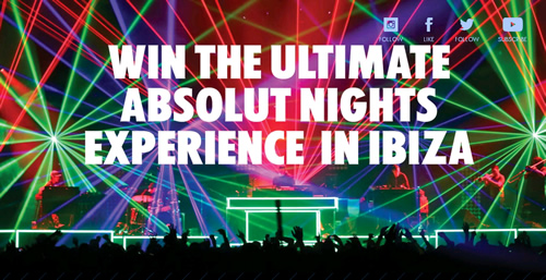 Absolut has unveiled its latest limited edition bottle, Absolut Electrik, supported by a 'Shazam' neck collar promotion and Ibiza Absolut Nights prize draw.