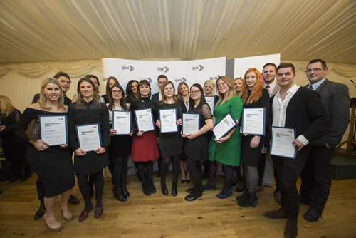 Students on the IPM Diploma and the IPM Incentive & Motivation Diploma collected their certificates at a graduation ceremony at the House of Commons in February 2016.