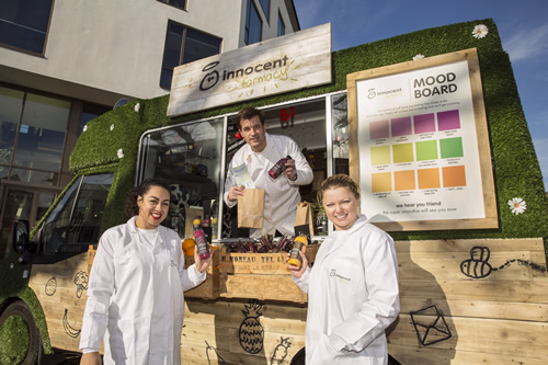 innocent drinks is encouraging UK consumers to try its new super smoothies by taking a roadshow on tour to three UK cities.