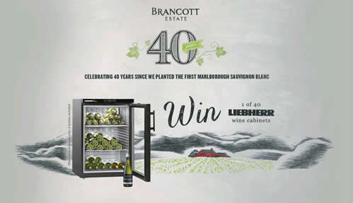 Pernod Ricard's Brancott Estate brand is running an on-pack promotion offering wine drinkers the chance to win a Liebherr wine cooler cabinet.