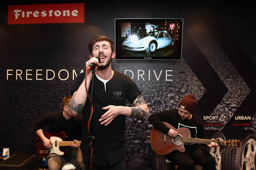 Tyre brand Firestone is letting unsigned acts showcase their skills to 15,000 people, courtesy of a unique partnership with Birmingham's Barclaycard Arena.