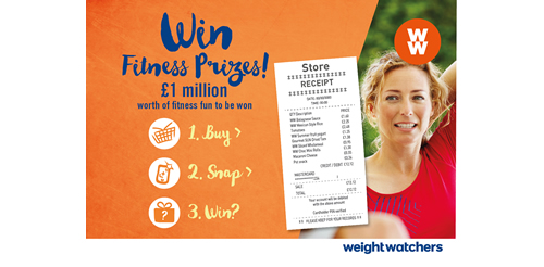 Weight Watchers has launched an industry-first cross-category promotion in the UK, created by agency Toucan and using Snipp's receipt validation technology.