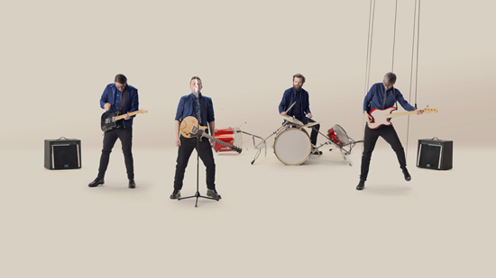 Bupa UK is running a one-of-a-kind interactive music video starring band The Futureheads that shows people how their bodies are performing.