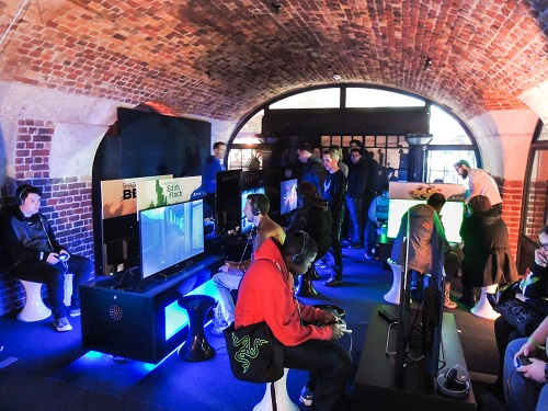 PlayStation offered gamers the chance to experience exclusive previews of PlayStationVR and its latest titles at video games event EGX Rezzed at London's Tobacco Dock over the weekend of April 7th to 9th 2016.