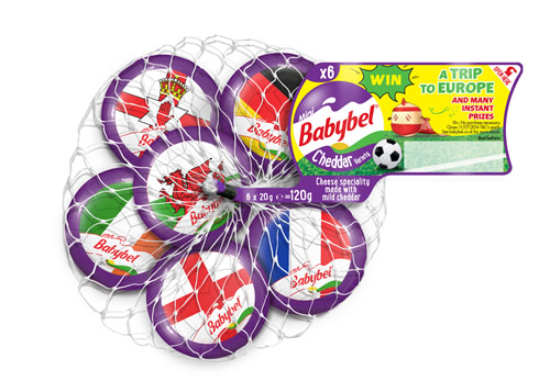 Mini Babybel has launched 'Celebrate Every Goal', a football-themed online game, in advance of the Euro 2016 tournament in France.