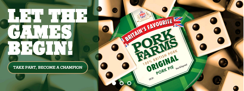 UK pork pie manufacturer, Pork Farms, has teamed up with the Micropub Association, to launch the UK National Board Games Championships.