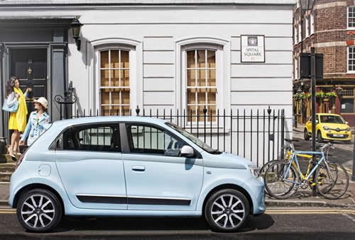 Renault put 70 Renault Twingo super minis on Central London streets so the public could test drive or test ride for free, to raise awareness and engagement.