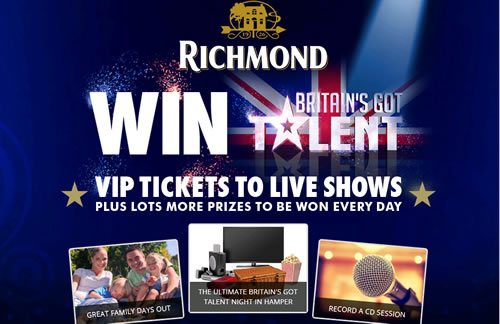 Kerry Food's Richmond sausages has linked with Britain's Got Talent for a £1.5m marketing campaign including an on-pack offer with VIP tickets as prizes.