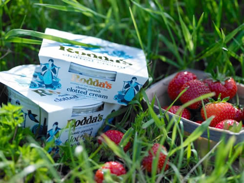 Rodda's, the world's leading producer of Cornish clotted cream, is serving up a sponsorship deal with the Lawn Tennis Association (LTA), which sees the brand named as the Official Clotted Cream of British Tennis.