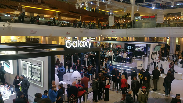Samsung Electronics UK's immersive Galaxy Studio space at Westfield London has attracted more than 330,000 visitors since opening on March 11th 2016, the company has revealed.