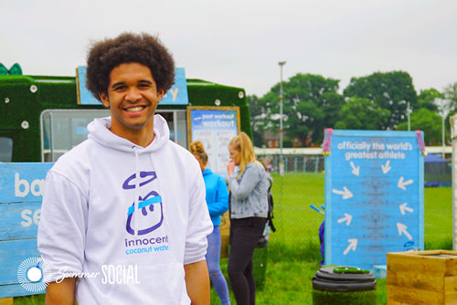 Drinks brand innocent is running a new experiential campaign for its Coconut Water, aimed at getting people to use the great outdoors and 'exercise wild'.