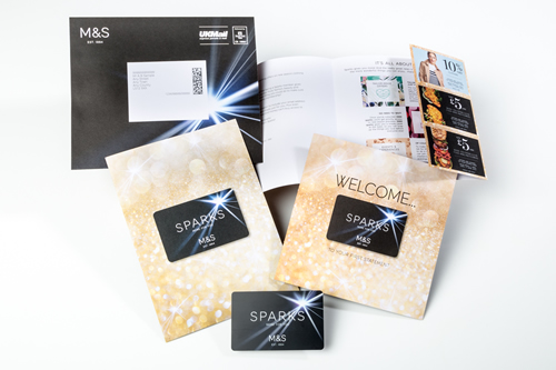 M&S launched its 'Sparks' loyalty and store card in 2016, supported by extensive direct mail activity created and managed by The Lettershop Group (TLG).