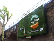 Britvic is running a Robinson's campaign transforming the area around Waterloo station into a tennis-themed display to mark the Wimbledon tournament.