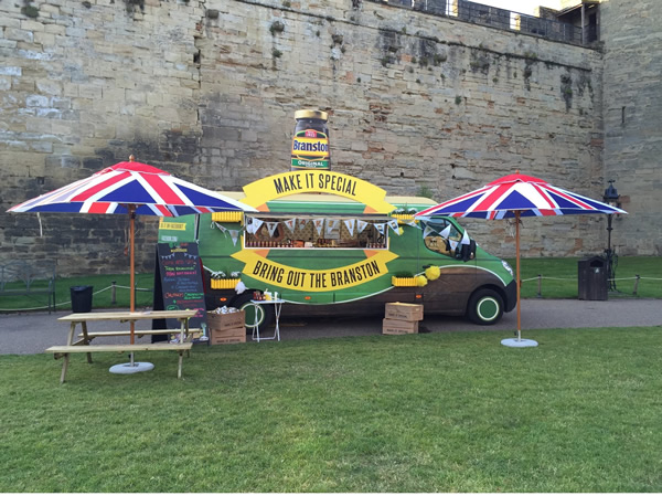 Branston will be sampling its chutney range at the Battle Proms and Folk by the Oak events this summer to drive usage in the traditional British picnic.