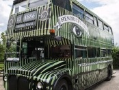 Hendrick's Gin is offering Londoners the chance to drink G&T and enjoy a cucumber macaron as they tour London in a cucumber-painted double-decker bus.