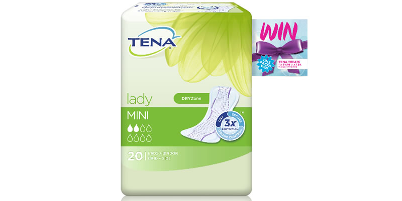 TENA Lady, the UK's number one bladder weakness brand, has unveiled a new on pack promotion which will allow consumers to 'treat' themselves this summer.