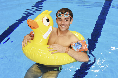 Tom Daley, Becky Adlington, the ASA and Change4Life are telling kids to 'just keep moving' with family swim sessions inspired by Disney·Pixar's Finding Dory