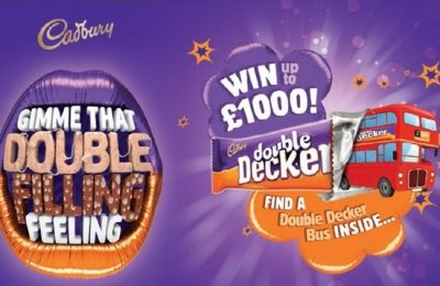 Consumers and C-store operators can both win up to £1,000 in a new promotion from Cadbury Double Decker, part of the brand's 'Obey Your Mouth' campaign.