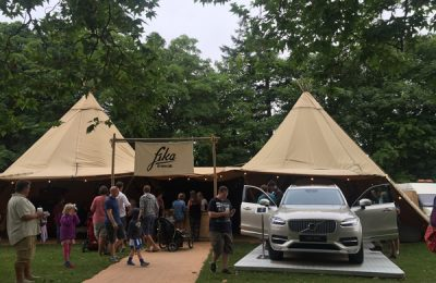 Event agency TRO is again working on Volvo Cars' brand sponsorship at UK festivals, including Bestival and Festival No. 6, across summer and autumn 2016.