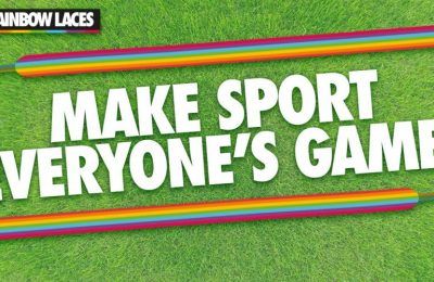 Adidas, Aon and Aviva are backing this year's Rainbow Laces campaign, which is run by LGBT charity Stonewall UK to combat homophobia and transphobia in sport.