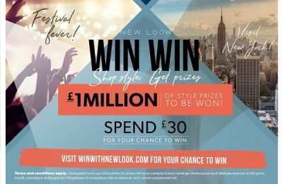 Leading fast-fashion retail brand New Look has launched its new Autumn/Winter 2016 promotional campaign online and across more than 600 retail stores in the UK and republic of Ireland, offering consumers £1m of style prizes to be won.