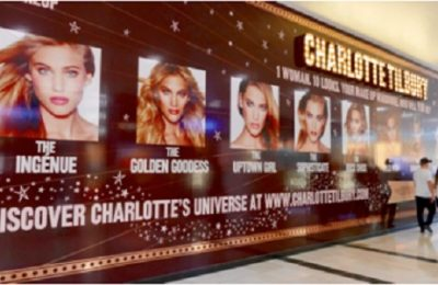 Charlotte Tilbury, the luxury cosmetics retailer, has launched what is claimed to be Westfield's first ever interactive retail installation, to drive excitement and awareness of its new flagship store before it opens in Westfield White City later this month.