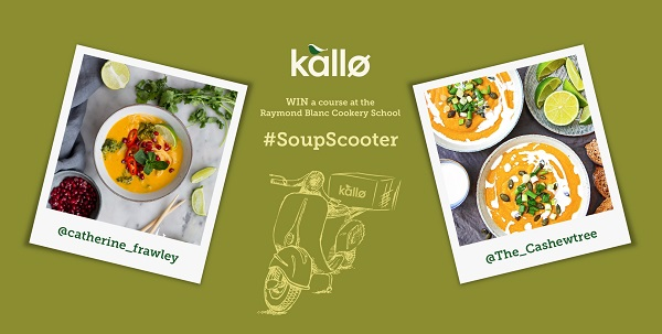 Kallø, the organic food brand, has launched another burst of its successful 'Kallø Soup Scooter' influencer-led social campaign, created by Exposure Digital. The activity aims to drive trial and awareness of the brand in the UK, encouraging consumers to cook with Kallø during its key winter and spring months. The activity, which targets food lovers, will run for three weeks and brings to life the brand's existing message of 'savour simple' and its belief that great food and taste comes from using a few good ingredients rather than lots of complicated ones.