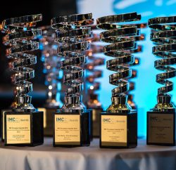 This year's IMC European Awards for Integrated Marketing Communications saw 81 trophies awarded to 31 agencies from five countries. Ireland took the lead with 25 trophies, followed by the Czech Republic with 18, Belgium with 16, and Italy and United Kingdom, both with 11.