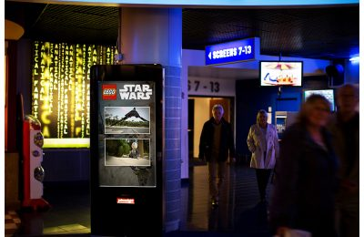 Lego is set to become the first client to capitalise on Primesight's new 'Primespot' technology which takes the traditional 'gold spot' advertising seen on-screen before a film into the foyer, maximising exposure to the target audience.