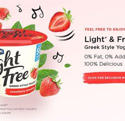 Danone Light & Free is joining forces with Spotify UK for a year-long partnership to build strong connections between the Greek-style yoghurt brand and a music-loving audience.