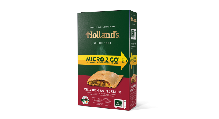 Lancashire-based bakery Holland's Pies is offering businesses, community groups and households across the North West of England the chance to win a 'canteen kit out' as it continues to promote its Micro 2 Go slice range.