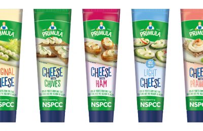 Primula Cheese is encouraging its customers to dream big this spring with the launch of a limited-edition tube design which will raise funds for UK children's charity, the NSPCC.