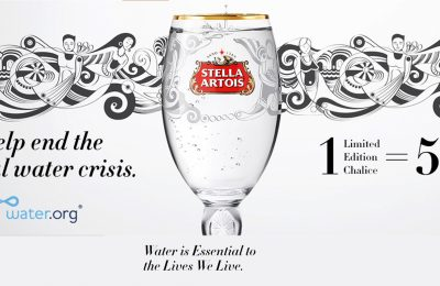 Stella Artois and Water.org used last week's World Economic Forum (WEF) meeting in Davos to call on international business leaders, corporations, media and consumers to join them in committing to help end the global water crisis.