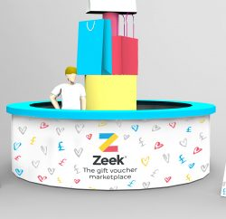 Zeek, a website and app that lets consumers buy and sell unwanted gift cards, is launching a one-day pop-up shop offering consumers the chance to swap their unwanted Christmas gift cards for the equivalent amount in cash – or donate the equivalent amount to charity.