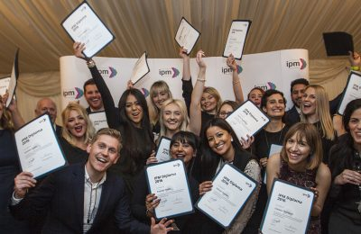The Institute of Promotional Marketing, the UK industry body for promotional marketing, has just celebrated the latest graduates on its key training courses, the IPM Certificate in Promotional Marketing, the IPM Diploma in Promotional Marketing and the IPM Incentive & Motivation Diploma.
