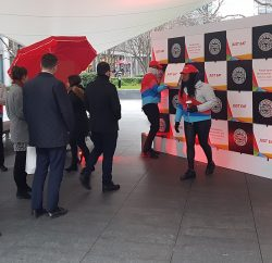"Just Eat, the online food delivery marketplace, has celebrated PizzaExpress joining the Just Eat platform with a ""Pizza Wall"" activation on National Pizza Day in London's Bishops Square just outside Spitalfields market."