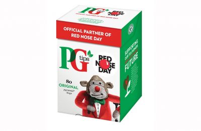 PG tips is the official Red Nose Day partner for the 2017 charity fundraising initiative, organised by Comic Relief. The brand has launched a #1MillionLaughs campaign to get the public sharing jokes across social media using the hashtag, and has committed to donating £300,000 to this year's Red Nose Day, which takes place on 24th March 2017.
