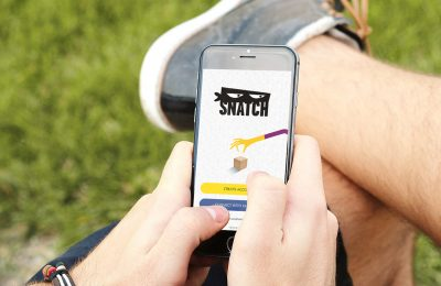 Snatch, a brand new Augmented Reality gaming app which allows consumers to win coupons and prizes, has won backing from Unilever Ventures, the investment arm of FMCG giant, Unilever.
