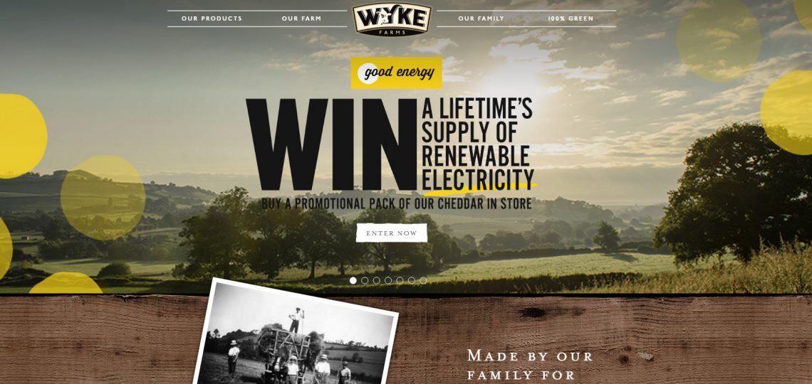Wyke Farms, the UK's largest independent cheese producers and also generators of renewable energy, has announced a national partnership with Good Energy, the 100% renewable electricity and green gas company.