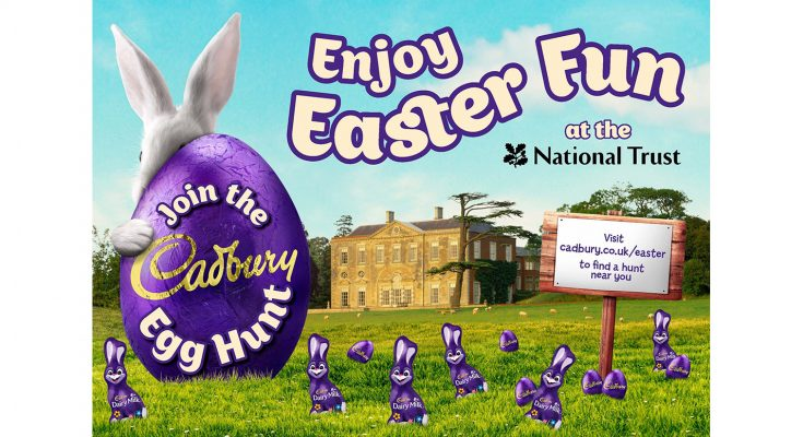 Mondelēz-owned confectionery brand Cadbury is again partnering the National Trust and National Trust for Scotland for the Cadbury's Great British Egg Hunt campaign. The annual Easter egg hunt, which launches on Friday 14th April and runs nationwide over the Easter weekend, forms part of Cadbury's wider seasonal campaign.