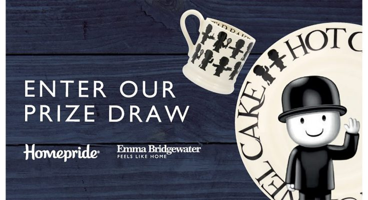 Homepride flour is launching an on-pack promotion offering consumers the chance to claim a range of limited edition collectibles from British pottery maker Emma Bridgewater by collecting and redeeming on-pack tokens.