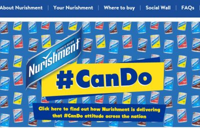 Nurishment is launching a new campaign designed to raise awareness of the vitamin-enhanced milk brand among students and young adults.