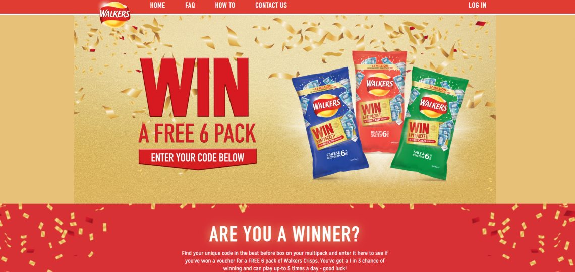 Walkers has announced its biggest-ever on-pack promotion, offering a range of cash prizes with a guaranteed prize pool of £2m.