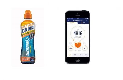 Lucozade Ribena Suntory is running an on-pack promo for its Lucozade Sports brand which offers consumers the chance to win more prizes the more active they are.