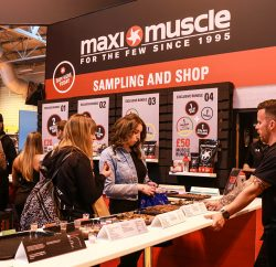 Leading sports nutrition brand, Maximuscle, saw thousands of fitness fanatics visit its stand at this year's BodyPower Expo from May 12 14, 2017. The event was the first time Maximuscle's latest products and flavours had been offered to consumers, and the brand's stand included a sampling bar featuring an array of new products, free giveaways, fitness challenges and appearances by leading sports and fitness personalities.