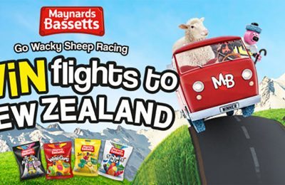 Mondelez International is launching an on-pack promotion for its Maynards Bassetts range which gives consumers the chance to win a 'bonkers day out', including a trip to the Wacky Sheep Race event in New Zealand.
